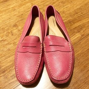 G. H. Bass Weejuns pink leather slip-on loafer 8.5